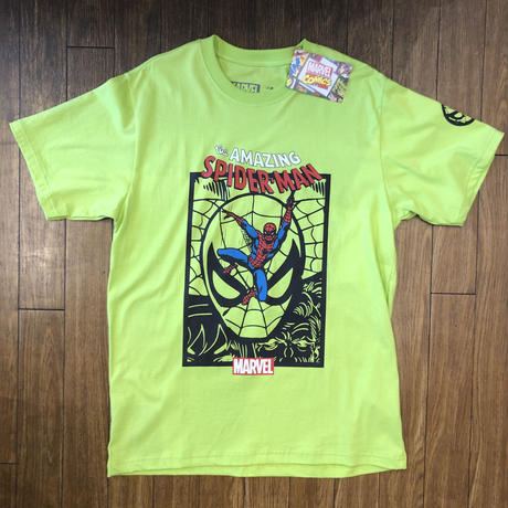 Amazing spiderman greenish yellow