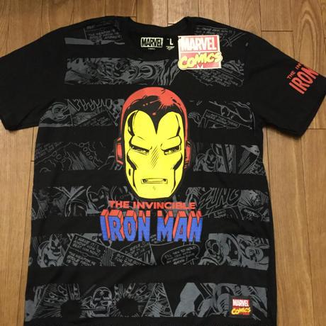 アイアンマン Ironman マーベル Tシャツ L