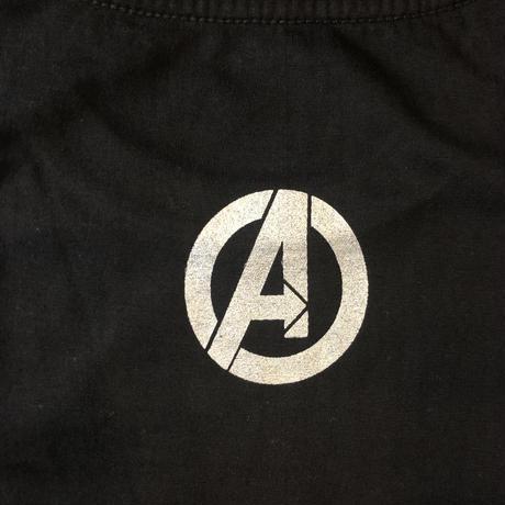 Avengers logo silver
