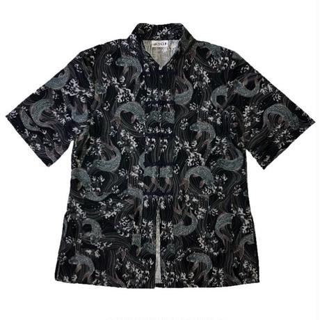 鯉柄 チャイナシャツ