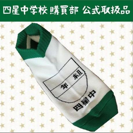 ガム踏んじゃいました上履き靴下【緑】