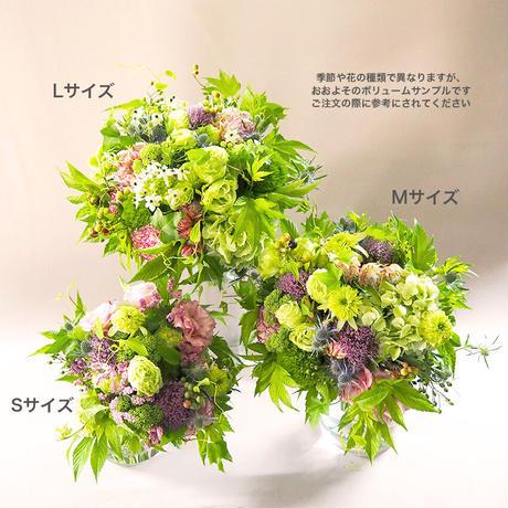 【母の日】ありがとうを贈るブーケ Lサイズ