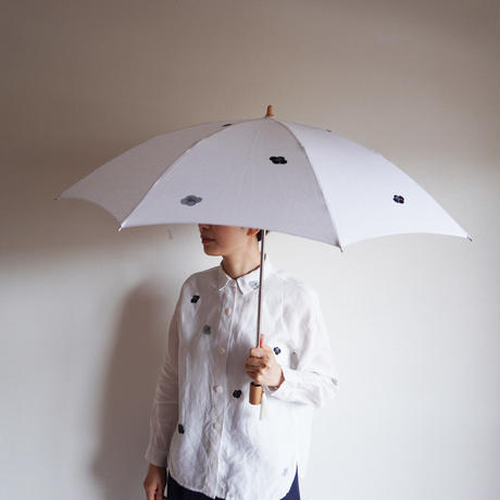 日傘・白<椿>