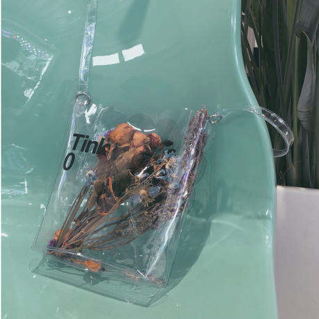 Frill Clear Bag