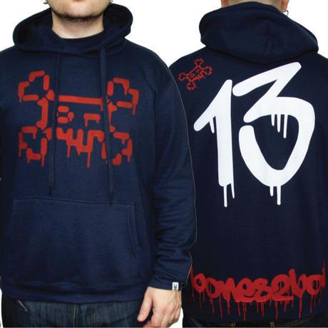 TOШO [  + -  ] BONES2BOIL 13 hoodie