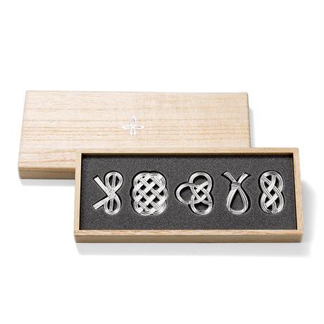【能作】箸置 - 結び -5ヶ入