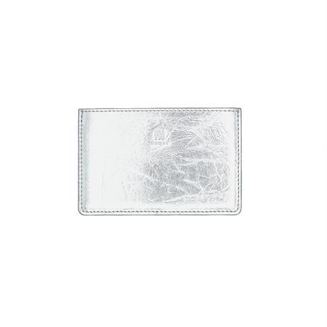 【NAGAE+】TIN BREATH Business card case single Silver