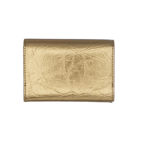【NAGAE+】TIN BREATH Business card case double Antique gold