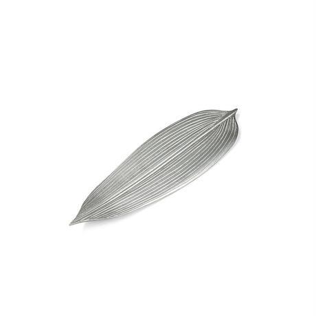 【能作】笹のプレート