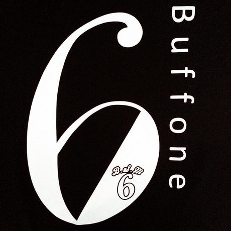 【BUFFONE】No.7 Black T-Shirt