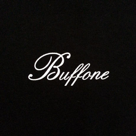 【BUFFONE】No.6 Black T-Shirt