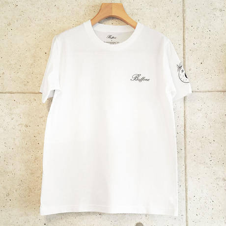 【BUFFONE】No.6 White T-Shirt