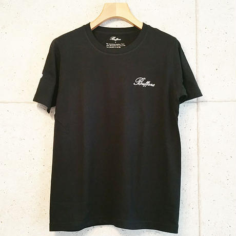 【BUFFONE】No.5 Black T-Shirt