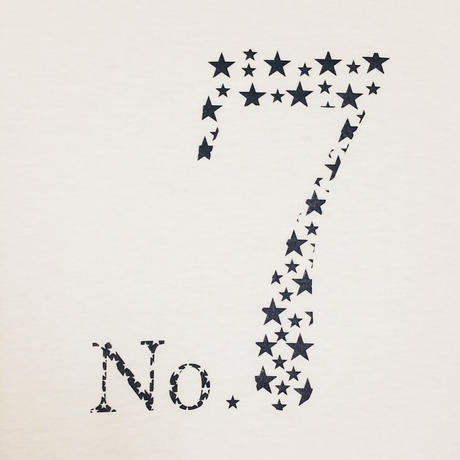【NUMBER】SEVEN STAR T-Shirt