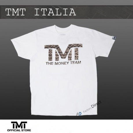 【THE MONEY TEAM】TMT ITALIA White T-Shirt