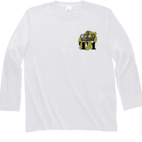 ロゴ入り長袖シャツ