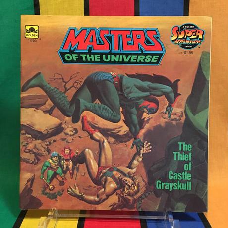 MOTU Storybook The Thief of Castle Grayskull/マスターズオブザユニバース 絵本 ザ シーフ オブ キャッスルグレイスカル/160314-2