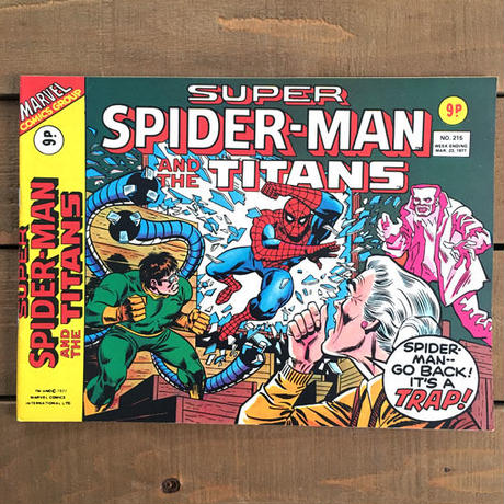 SPIDER-MAN Super Spider-man and the Titans Comics 1977.Mar.215/スパイダーマン コミック 1977年3月215号/190425-10