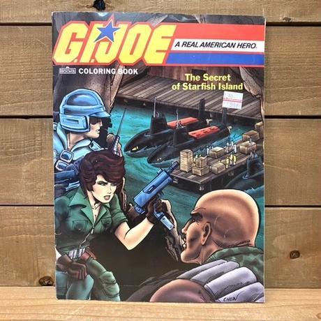 G.I.JOE Coloring Book/G.I.JOE 塗り絵本/210416-1