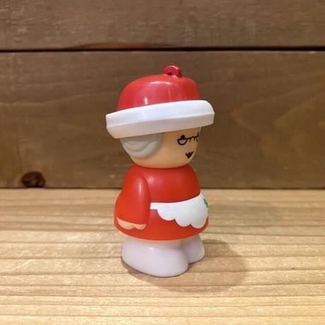 Chunky Christmas People Mrs  Claus Ornament Toy/チャンキー クリスマスピープル ミセス・クロース オーナメントトイ/201119-6