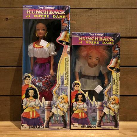 HUNCHBACK of NOTREDAME Quasimodo & Esmeralda Doll Set/ノートルダムのせむし男 カジモド & エスメラルダ ドールセット/190621-6