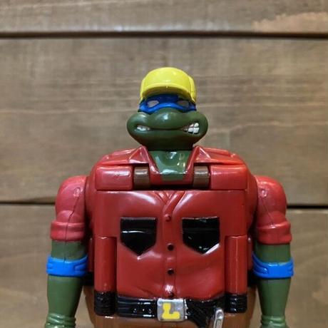 TURTLES Construction Mutation Leo Figure/タートルズ マシンミューテーション・レオナルド フィギュア/210718-3