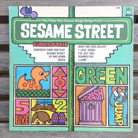 SESAME STREET Rubber Duck Record/セサミストリート ラバーダック レコード/180607-9