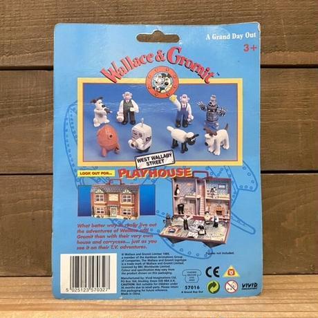 Wallece & Gromit PVC Figure Set/ウォレスとグルミット PVCフィギュアセット/211011-10
