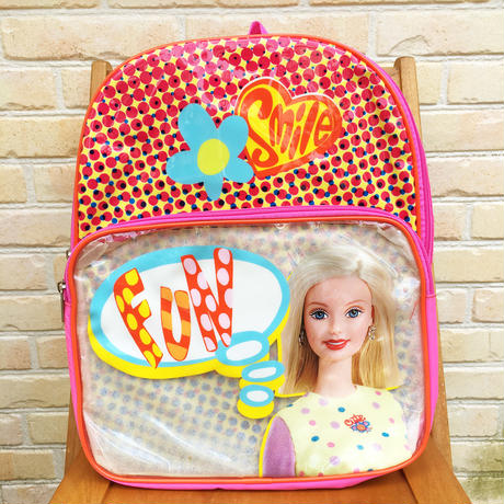 Barbie Barbie Back Pack Pink/バービー リュック ピンク/171106-1