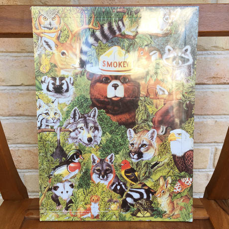 SMOKEY BEAR Smokey Bear Tray Puzzle/スモーキーベア トレイパズル/170902-2