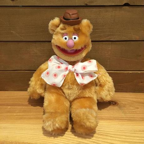 THE MUPPETS Fozzie Bear Plush Doll/マペッツ フォジーベア ぬいぐるみ/190517-10