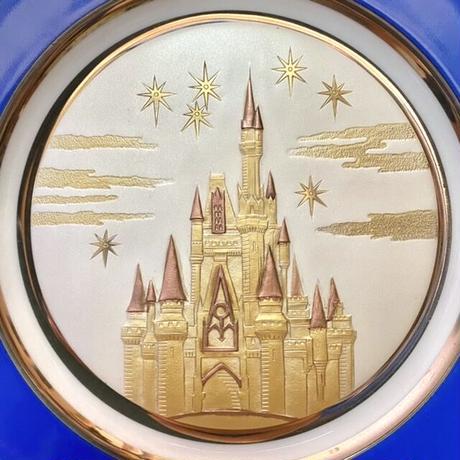 Disney WDW Cinderella Castle Plate/ディズニー ウォルトディズニーワールド シンデレラ城 プレート/211011-2