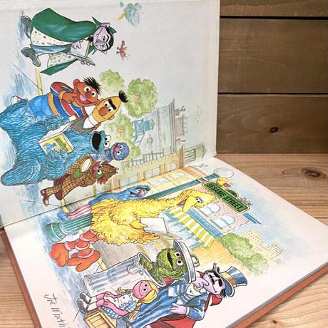 SESAME STREET Picture Book/セサミストリート 絵本/210221-6
