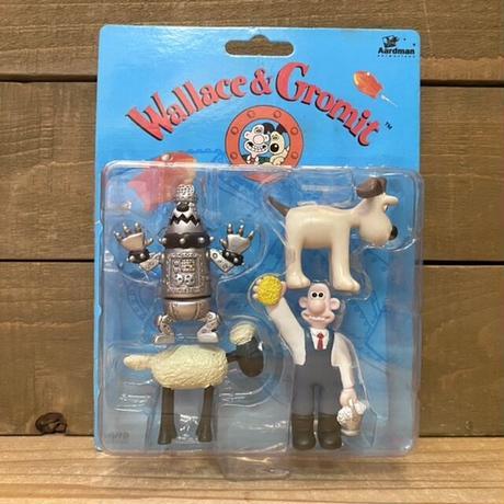 Wallece & Gromit PVC Figure Set/ウォレスとグルミット PVCフィギュアセット/211011-11
