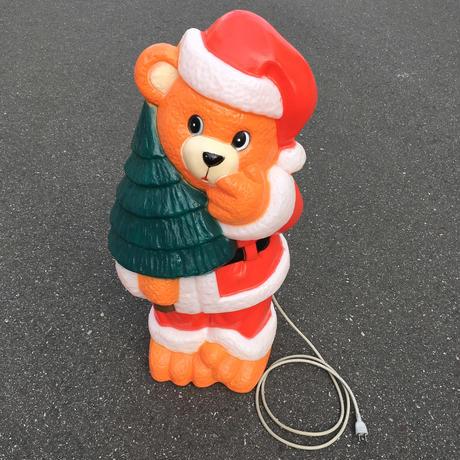 Christmas Bear Blow Mold Light/クリスマスベア ブロウモールドライト/171101-3