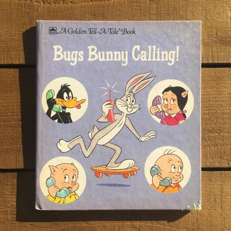 LOONEY TUNES Bugs Bunny Picture Book/ルーニー・テューンズ バッグスバニー 絵本/181210-9