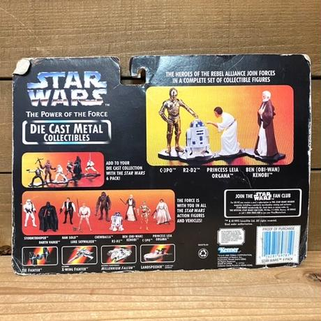 STAR WARS Die Cast Metal Figure Set/スターウォーズ ダイキャストメタル・フィギュアセット/210319-5