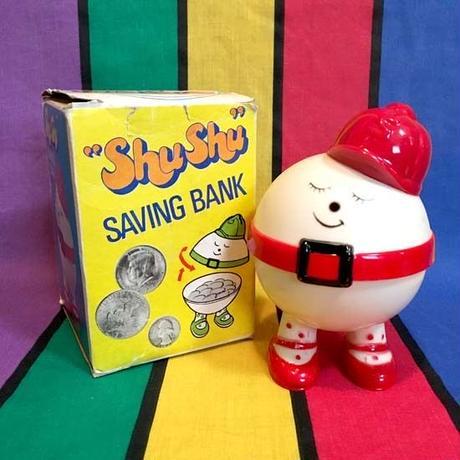 Shu Shu Saving Bank Red/シュシュ 貯金箱 赤/160413-10