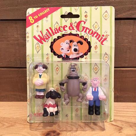 Wallace&Gromit PVC Figure Set/ウォレスとグルミット PVCフィギュア セット/180820-1