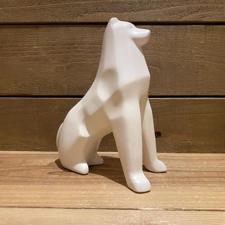 磁器の犬 置物/200408-1