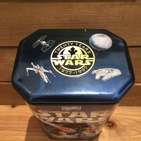 STAR WARS Choc Chip Cookie Tin Can/スターウォーズ クッキー缶/190531-3
