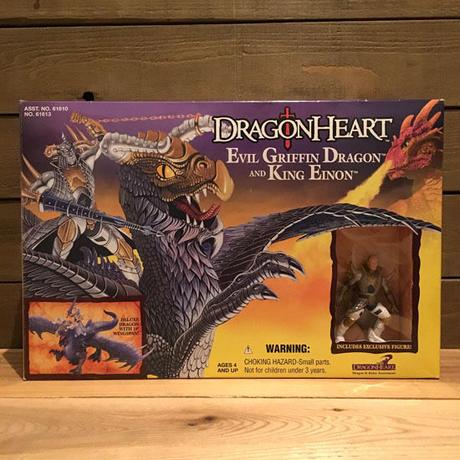 DRAGONHEART Evil Griffin Dragon & King Einon Figure/ドラゴンハート エビルグリフィン・ドラゴン & キング・エイノン フィギュア/190911-3