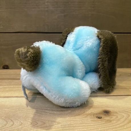 Blue Dog Plush Doll/青い犬 ぬいぐるみ/210407-26