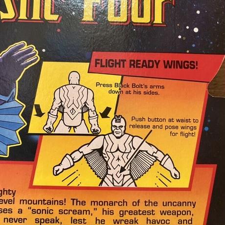 Fantastic Four Black Bolt Figure/ファンタスティックフォー ブラックボルト フィギュア/210910-11
