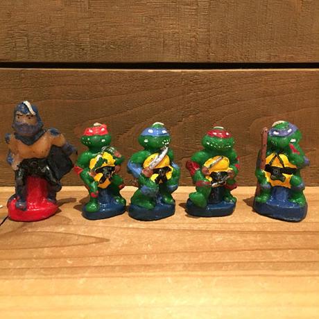 TURTLES Figure Candle 5Pcs Set/タートルズ フィギュアキャンドル 5体セット/190207-16