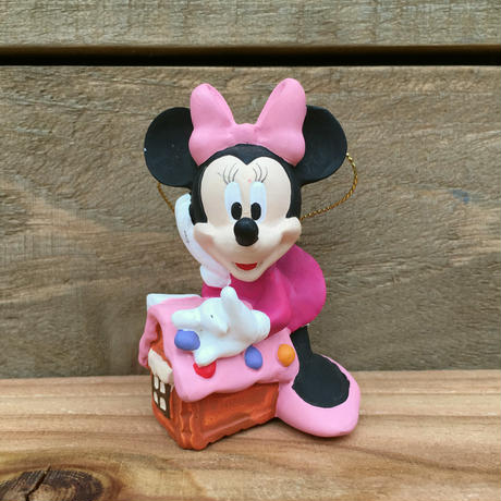 Disney Minnie Mouse Xmas Ornament/ディズニー ミニー・マウス クリスマスオーナメント/15124-11