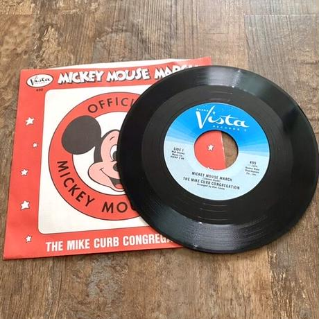 Disney Mickey Mouse Club EP Record/ディズニー ミッキーマウスクラブ EPレコード/210529−1