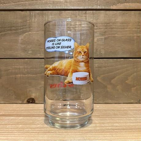 9-Lives Morris the Cat Glass/9ライブズ モリス グラス/200908-17