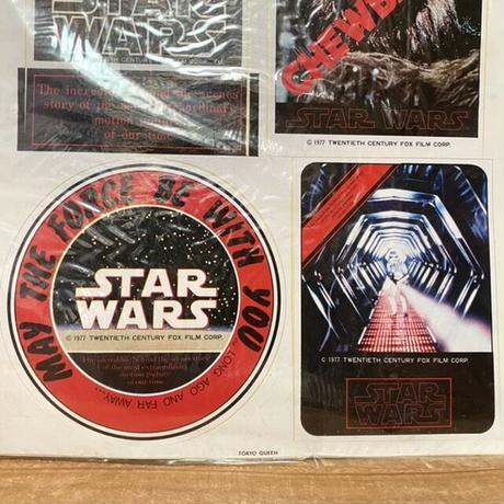 STAR WARS Sticker/スターウォーズ ステッカー/210610-1