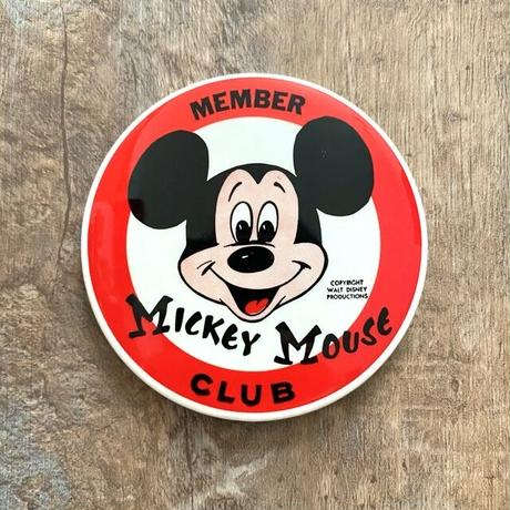 Disney Mickey Mouse Club Button/ディズニー ミッキーマウスクラブ バッジ/210529−5